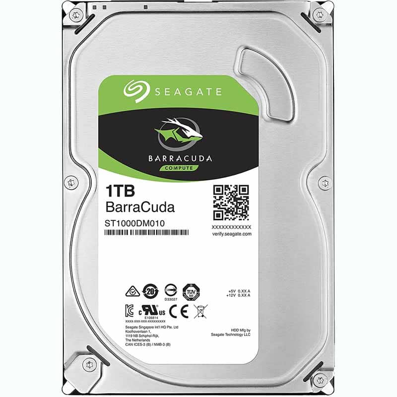 Seagate Barracuda 1TB 7200rpm 3.5in HDD ST1000DM010 Emailed promo code $39.99