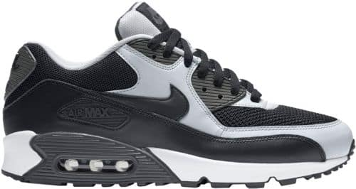 new arrivals 569cb ee868 Nike Men s Air Max  90 Essential Shoes -  69.99 Black Grey ONLY (limited  sizes) - Slickdeals.net