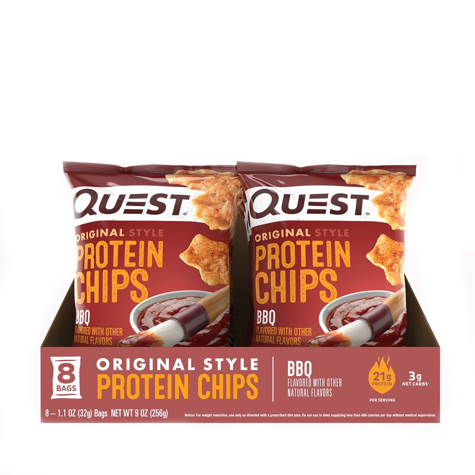 QnA VBage 48-Count 1.1oz Quest Nutrition Protein Chips (various flavors) $46.15 w/ AutoShip + Free S&H