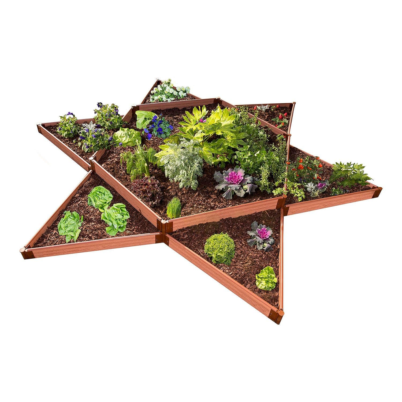 Sam's Club Classic Sienna Raised Garden Bed Garden Star 12' x 12' x 11 with a 1 inch profile Profile --- Regular Price $252.88 Save $93.00 $159.88