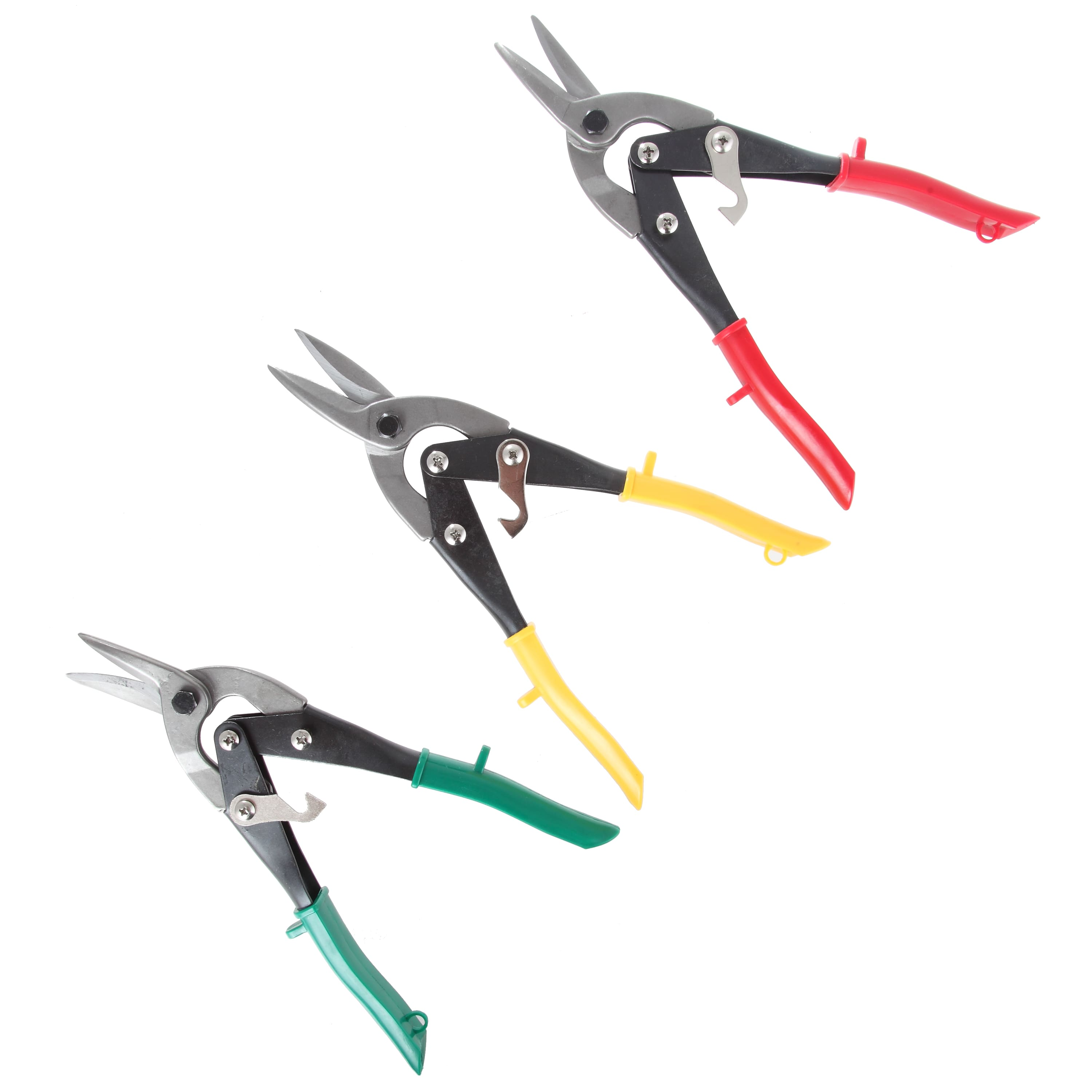 Hyper Tough TU90706J 3-Piece Aviation Snip Set With Cushion Grips -- On Clearance at Walmart for $8.44 with In-store P/U