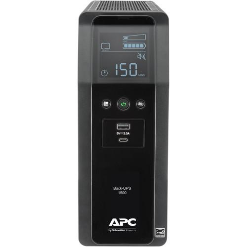 APC Back-UPS Pro BN 1500VA Battery Backup and Surge Protector + Free Shipping $159 after $48 coupon