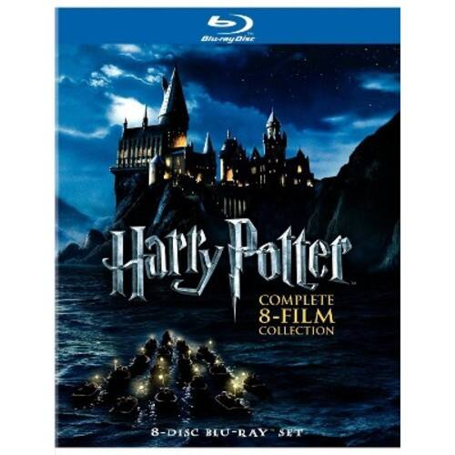 Harry Potter: Complete 8-Film Collection [8 Discs] [Blu-ray] at Best Buy $42.99