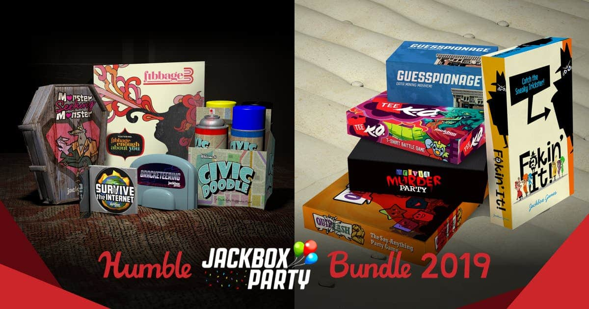 HUMBLE JACKBOX PARTY BUNDLE 2019 (Vol. 1-4) $15