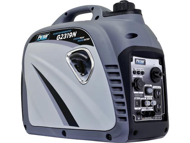 Pulsar 2300W Portable Gas-Powered Inverter Generator - $359.99