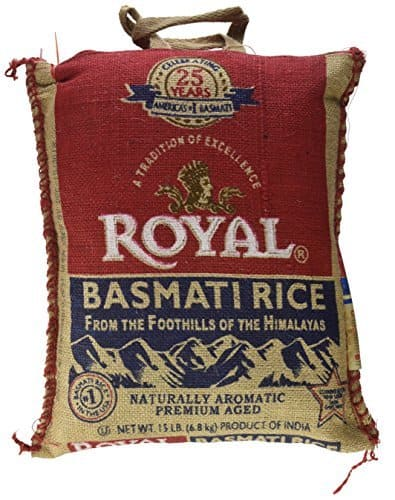 Prime Members: 15-lbs Royal Basmati Rice $12.74