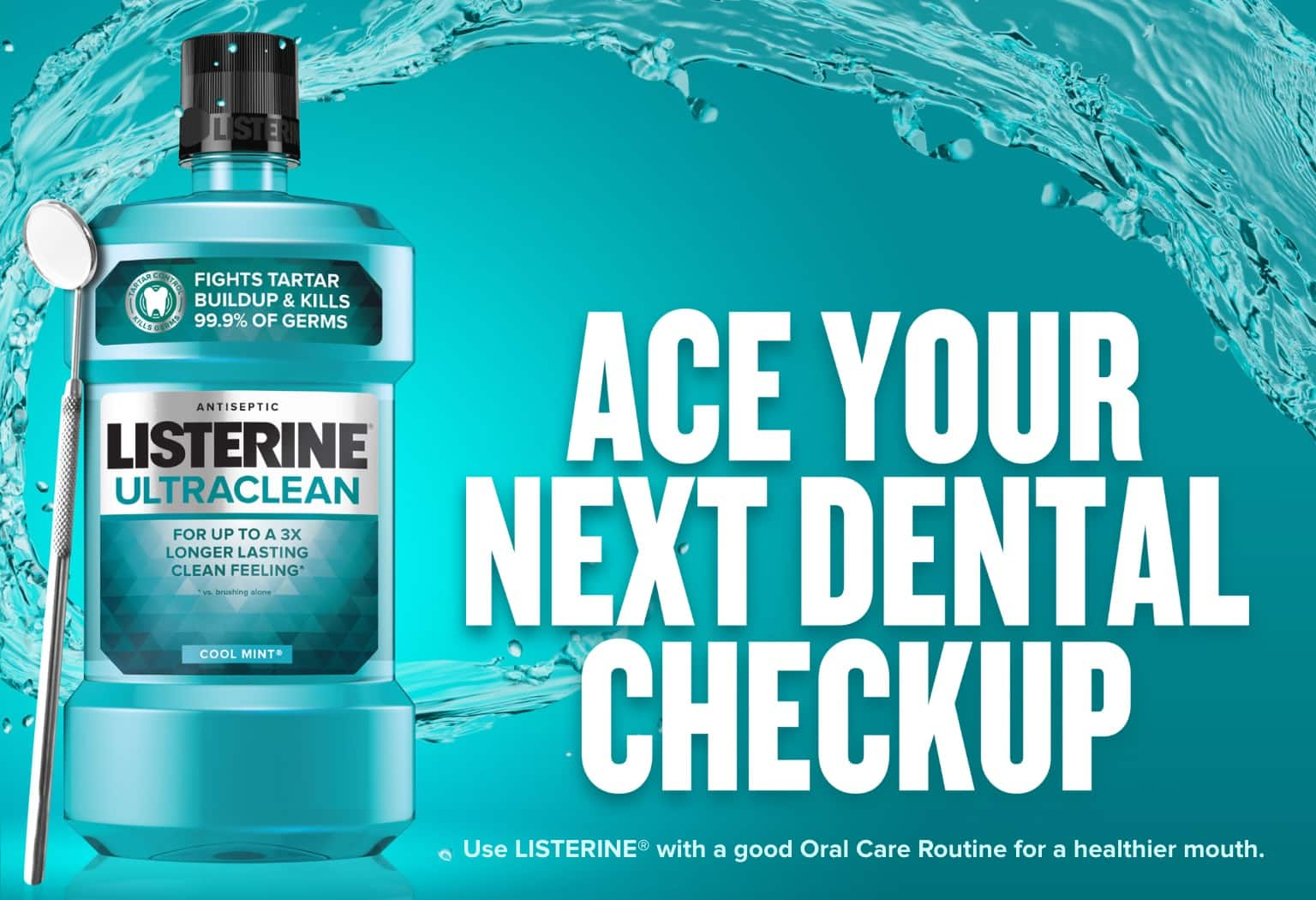 Price Mistake (or Amazon Title mistake) Listerine Antiseptic Mouthwash, Cool Mint, 33.8-Ounce Bottles (Pack of 6) for $5.37