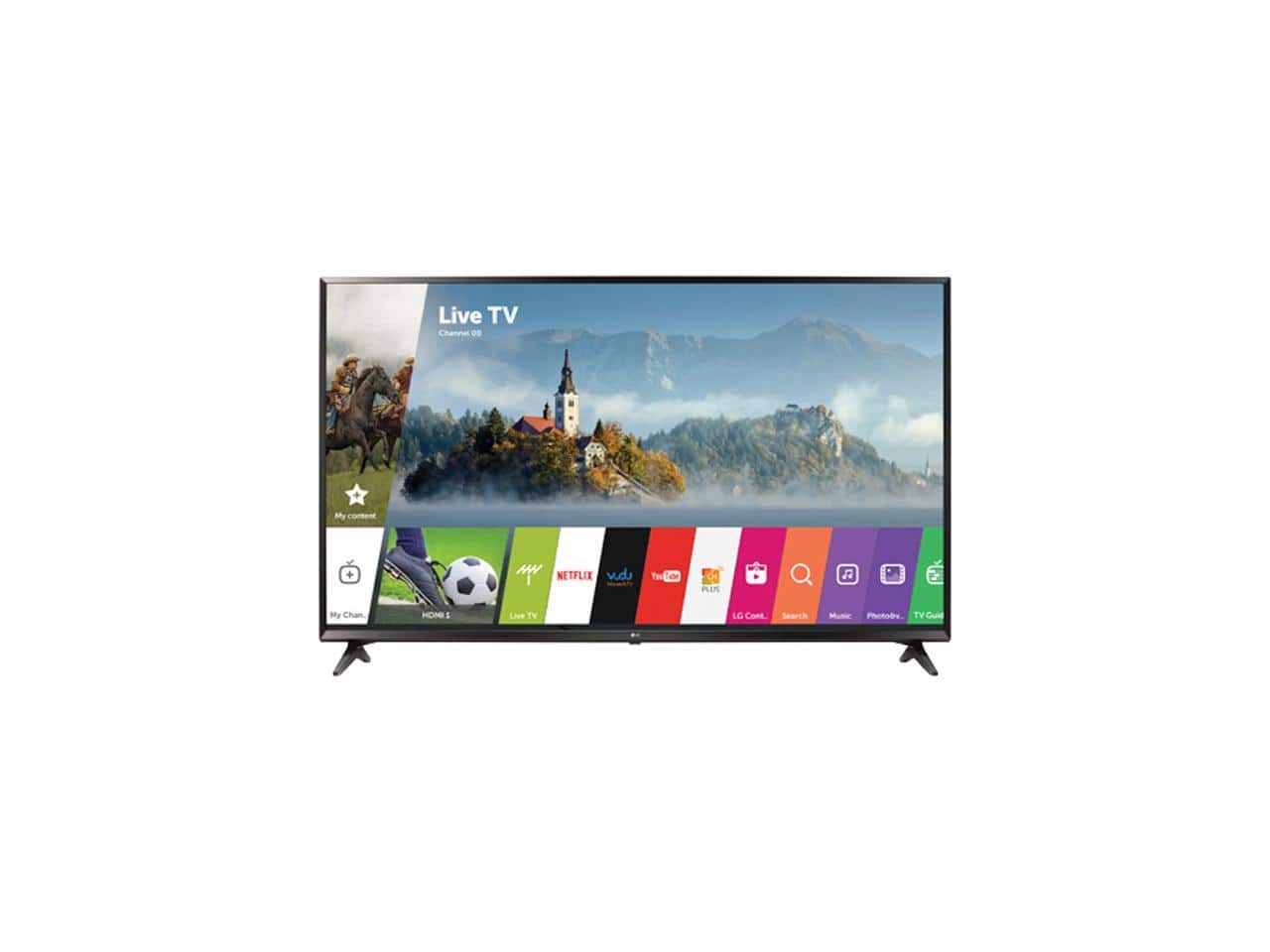 """49"""" LG 49UJ6300 @ NewEgg $329.99 after rebate/promo code + Free Super Saver Shipping (7 day deal)"""