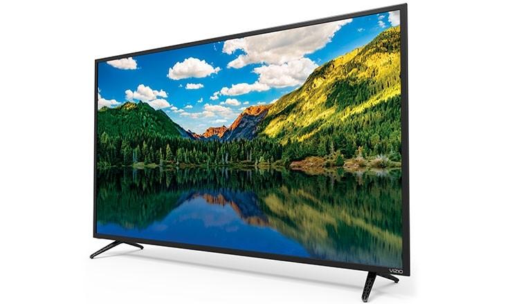 "VIZIO 55"" Class 4K (2160P) Full Array LED TV (D55un-E1) $398"