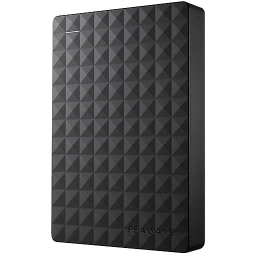 Seagate Portable Expansion 4TB USB 3.0 External Hard Drive $69.99 after 20 off 75 coupon at Staples