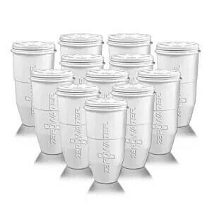 ZeroWater 12-pack Pitcher Replacement Filter (ZR-012) as Low as $72.24 +FS ($6.02/Filter) w/ Amazon.com S&S