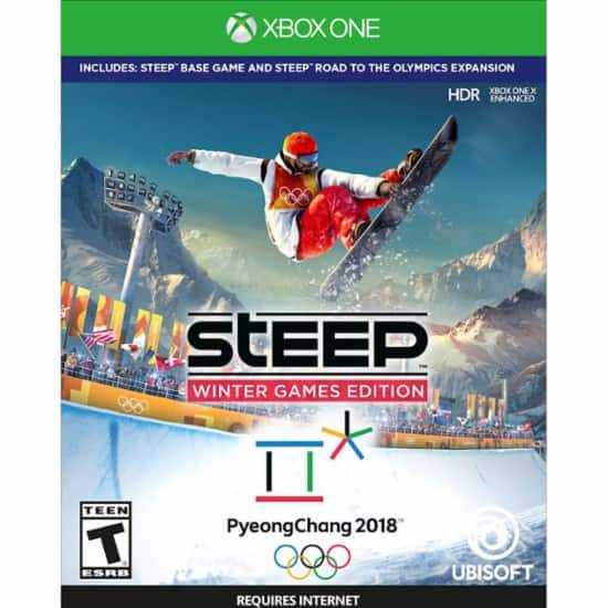 [Best Buy] Steep: Winter Games Edition - Xbox One/PS4 $29.99 [GCU - $23.99]