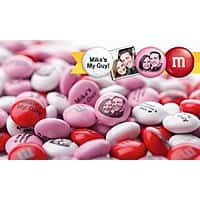 Groupon Deal: Personalized M&M's $15 for $30 groupon Valentines Day