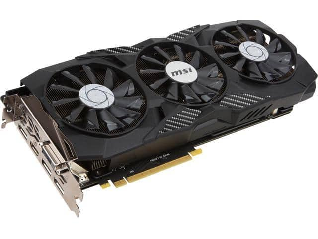 MSI GeForce GTX 1080 DUKE W. FREE SHIPPING $465