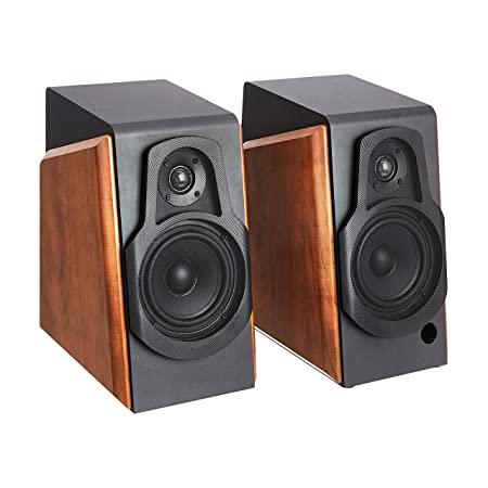 Amazon Basics Bluetooth Bookshelf Speakers with Active Speaker, 80W, 20-20KHz $50.34 reg $160 @ Amazon