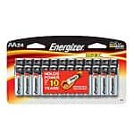 Energizer max 24pk AA batteries $3.53 at Home Depot B&M clearance YMMV