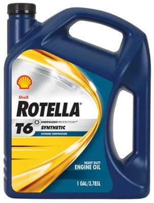 Shell Rotella T6 Full Synthetic 5W-40 Motor Oil, 1 gal $14.57+tax AR @ Walmart online and B&M starting March 1st, 2015