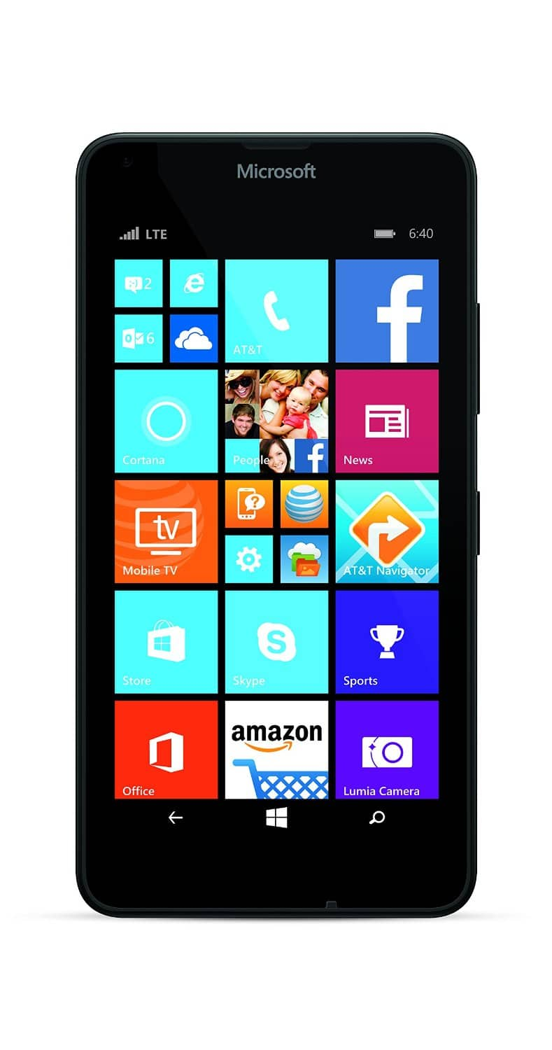 AT&T Nokia Lumia 640 No Contract Smartphone $29.99 + Free Shipping w/ Prime @ Amazon