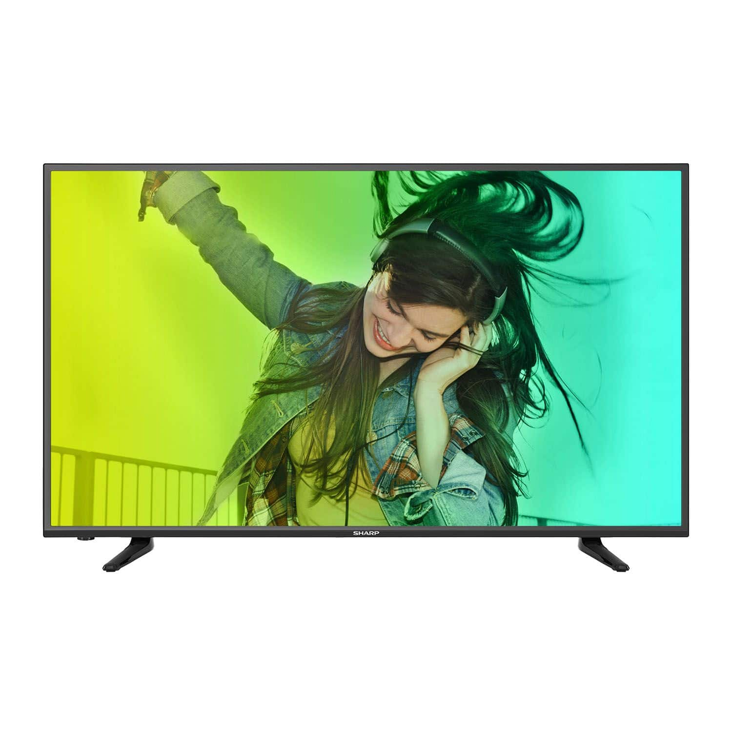 "43"" Sharp LC-43N6100U 4K Ultra HD LED Smart HDTV (2016 Model) $398 & More + Free Shipping @ Walmart"
