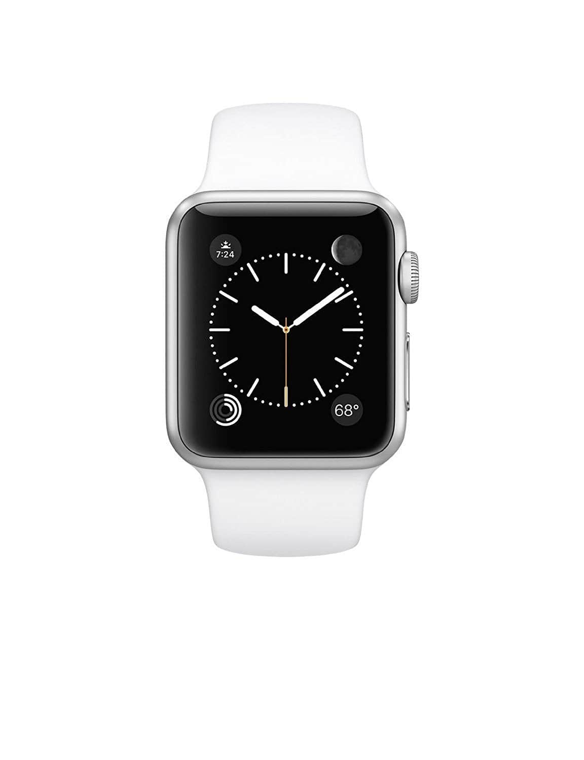 Apple Watch Sport 42mm Smartwatch (Silver Aluminum Case w/ White Sport Band) $205 w/ Masterpass Checkout & more + Free Shipping @ Newegg