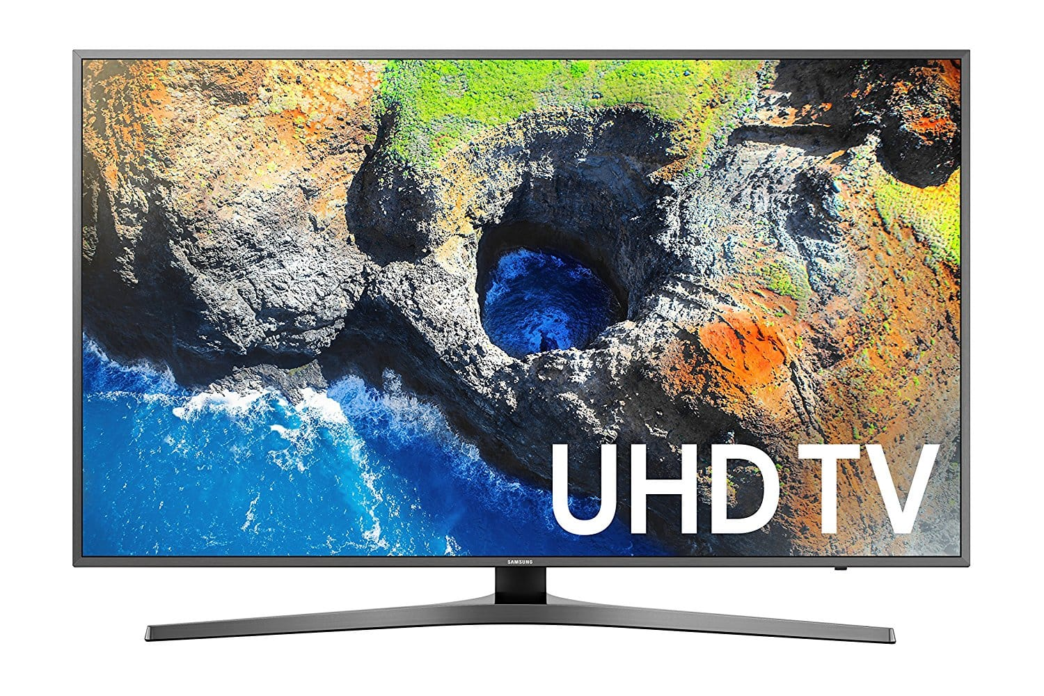 "55"" Samsung UN55MU7000 4K Ultra HD HDR Smart LED HDTV (2017 Model) $899.99 + Free Shipping @ Best Buy"
