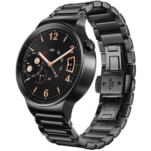 Huawei Watch 42mm Black Stainless Steel Smartwatch w/ Black SS Link Band $189.99 + Free Shipping @ B&H