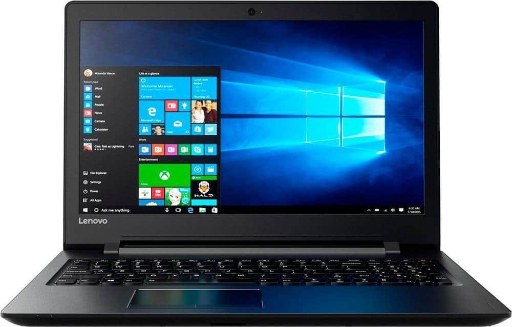 "Lenovo Ideapad 110 15.6"" Laptop: AMD A6-7310 Quad-Core, 4GB DDR3, 500GB HDD, Radeon R4, Win 10 $199.99 + Free Shipping / Free Pickup @ Best Buy"