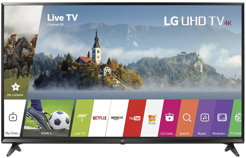 "55"" LG 55UJ6300 4K UHD Smart LED HDTV (Refurbished) $368.63 + Free Shipping @ Walmart"