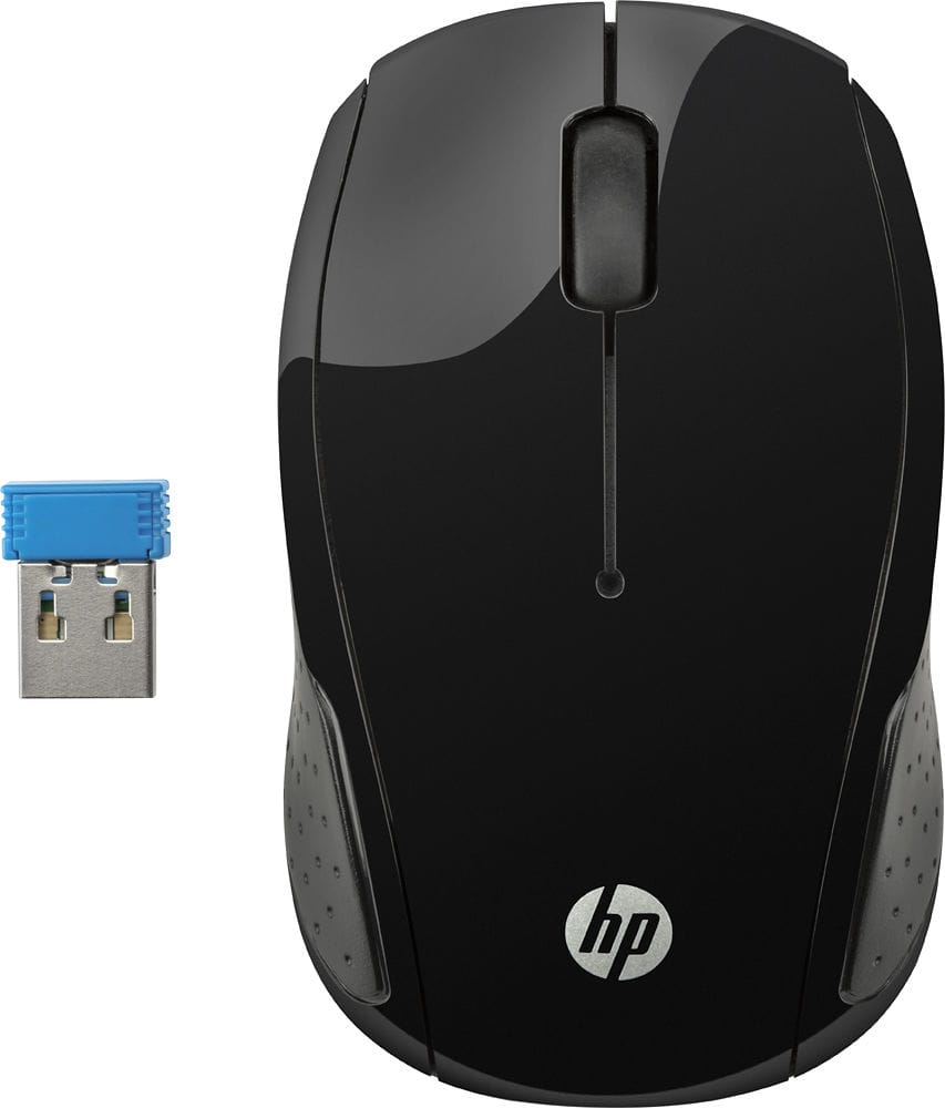 HP 200 Wireless Optical Mouse $7.99 + Free Store Pickup @ Best Buy