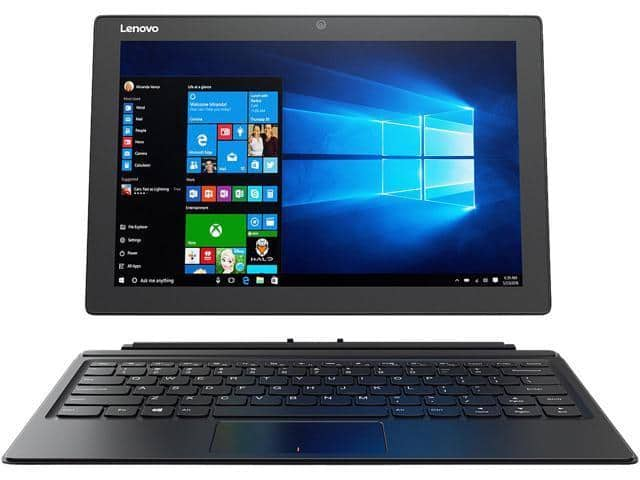 "Lenovo Miix 510 Laptop: Intel Core i5-7200U, 12.2"" 1080p IPS Touchscreen, 8GB DDR4, 256GB SSD, Win 10 $599.99 + Free Shipping @ eBay"