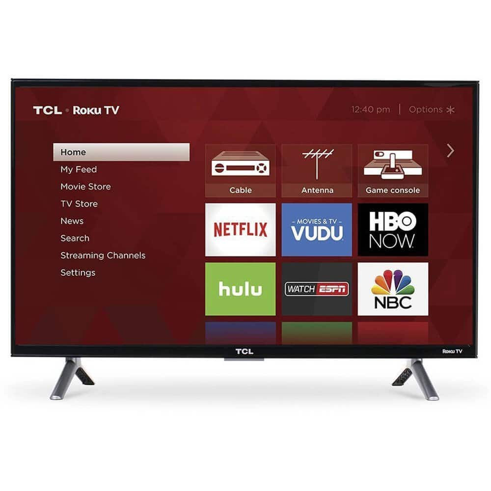 "55"" TCL 55S405 4K UHD HDR Roku Smart LED HDTV (2017 Model) $399.99 + Free Shipping @ Best Buy / Amazon"
