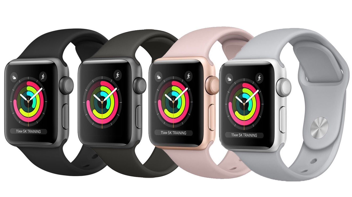 Apple Watch Series 3 Smartwatch (various colors) 38mm $292.50 AC, 42mm $319.50 AC + Free Shipping @ eBay