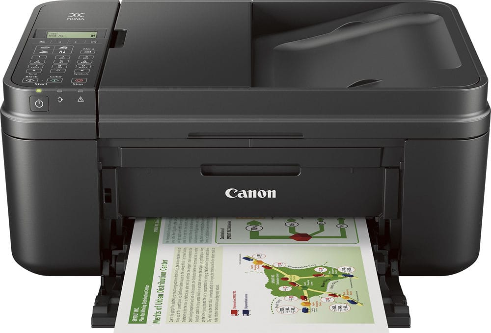 Canon PIXMA MX492 Wireless All-In-One Printer $39.99 + Free Shipping @ eBay