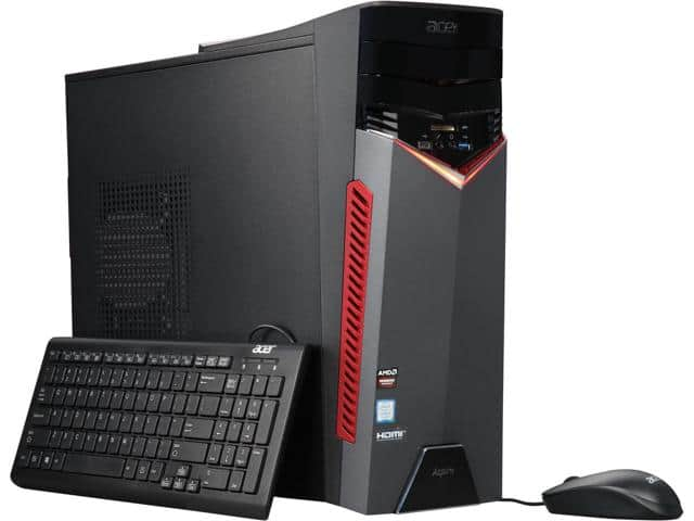Acer Aspire GX-785 Desktop PC: Intel Core i5-7400, 8GB DDR4, 1TB HDD, RX 480 4GB, Win 10 $574.99 AC w/ MasterPass Checkout + Shipping @ Newegg