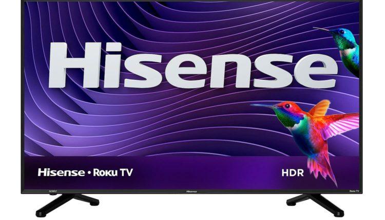 "Sam's Club Members: 50"" Hisense 50R6D 4K UHD HDR Roku Smart LED HDTV $298, 55"" 55R6D $348 + Free Shipping @ Sam's Club"