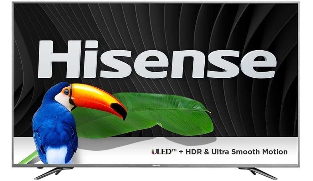 """55"""" Hisense 55H9D Plus 4K UHD 120Hz HDR Smart LED HDTV (2017 Model) $699.91 + Free Shipping @ PC Richard & Son"""