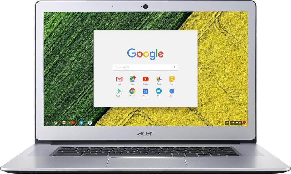 "Acer 15.6"" Touchscreen Chromebook + Google Home $299 + Free Shipping @ Best Buy"