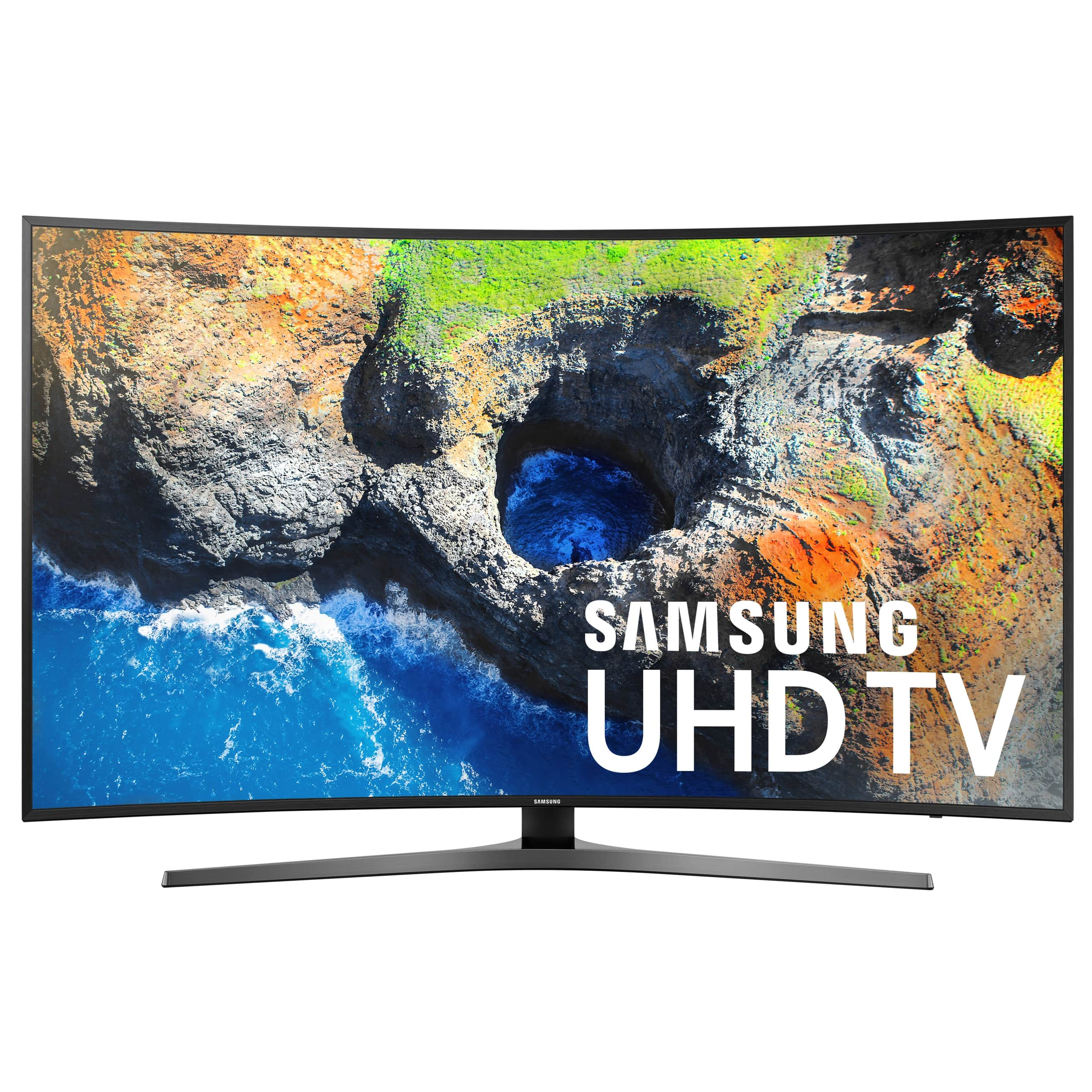 "55"" Samsung UN55MU7500 Curved 4K UHD HDR Smart LED HDTV + $200 Gift Card $665 & More + Free Shipping @ Walmart"