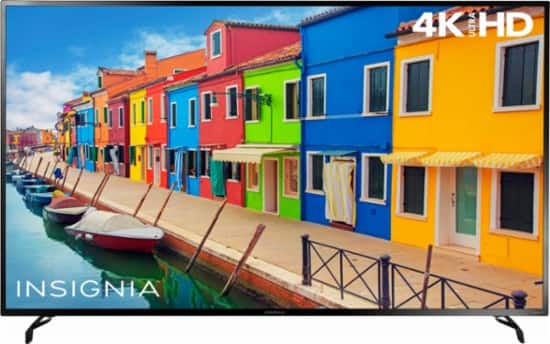 "65"" Insignia 4K UHD Roku Smart LED HDTV $649.99 + Free Shipping @ Best Buy"