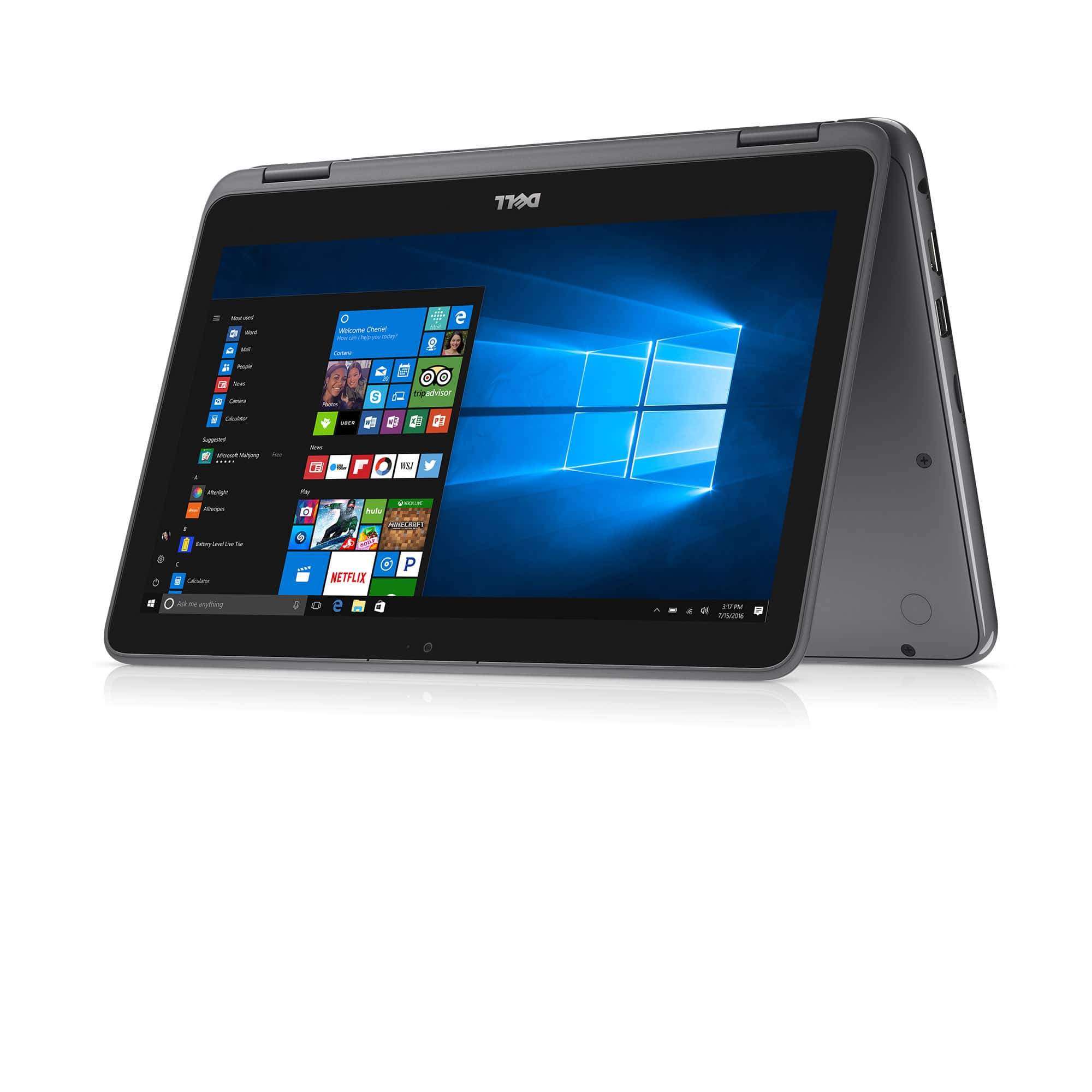 """Dell Inspiron 11 3000 2-in-1 11.6"""" Touch Laptop: AMD A6-9220e, 4GB DDR4, 32GB eMMC, Radeon R4, Win 10 $199 + Free Shipping @ Walmart"""