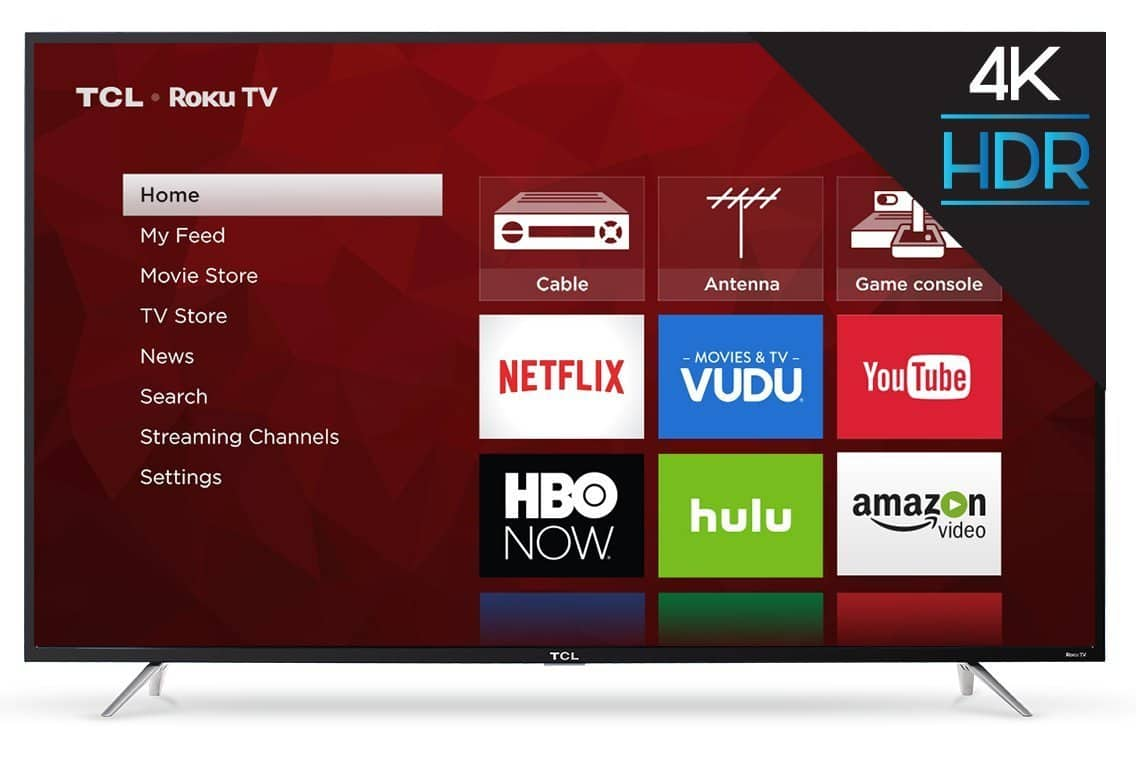 "65"" TCL 65S403 4K UHD Smart Roku LED HDTV $599.99 + Free Shipping @ BJ's Wholesale"