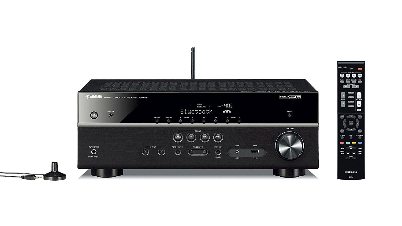 Yamaha RX-V481BL 725W 5.1-Ch MusicCast 4K A/V Receiver w/ Bluetooth $249.99 + Free Shipping @ Best Buy