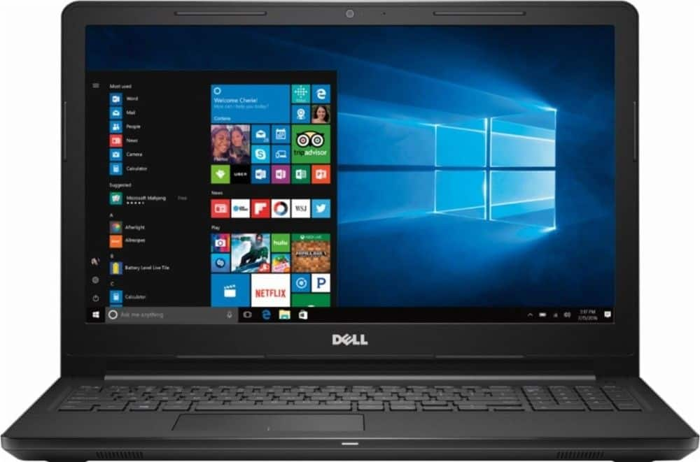 "Dell Inspiron 15 3000 15.6"" Laptop: A6-9200 Dual-Core, 4GB DDR4, 500GB HDD, Radeon R4, Win 10  $209.99 + Free Shipping @ Best Buy"