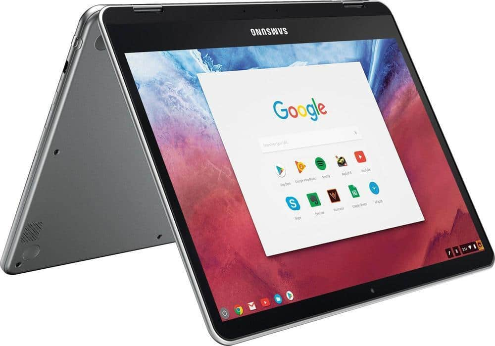 "Samsung Chromebook Plus 12.3"" 2-in-1 Touch Laptop: 4GB RAM, 32GB eMMC, Type-C, Chrome OS $359.99 w/ EDU code (Open Box $312-$323) + Free Shipping @ Best Buy"
