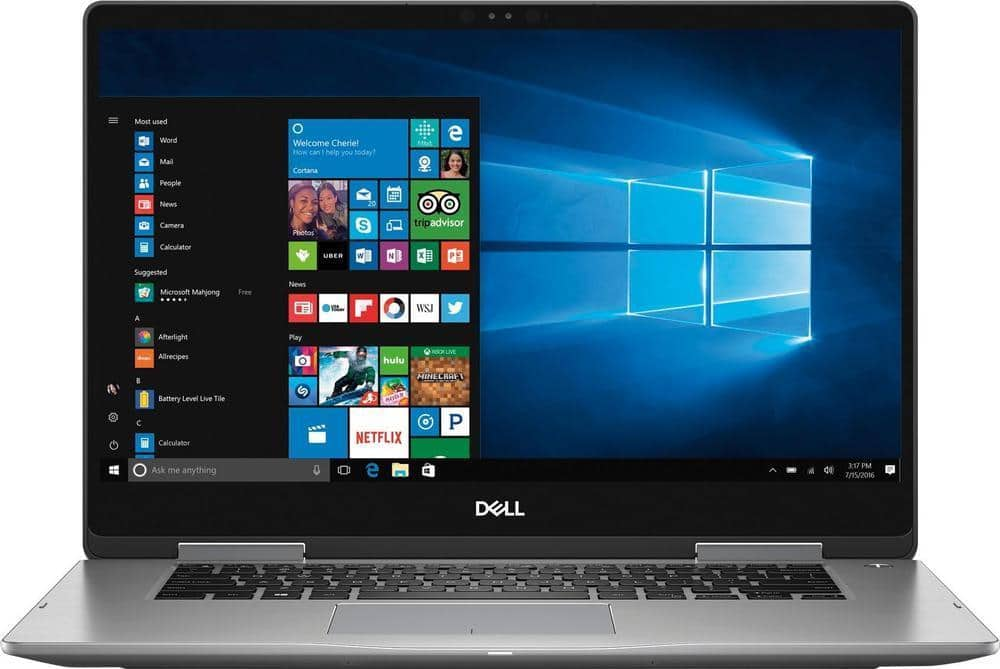 """Dell Inspiron 15 7000 2-in-1 Laptop: Intel Core i5-8250U, 15.6"""" 1080p IPS Touchscreen, 8GB DDR4, 2TB HDD, Type-C, Win 10 $549.99 + Free Shipping @ Best Buy"""