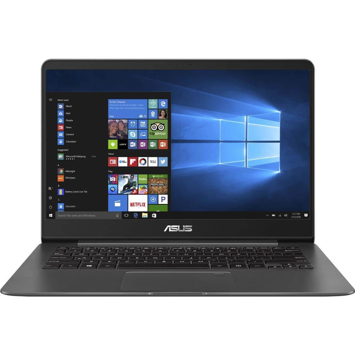 "Asus ZenBook Flip 14 UX461UA 2-in1 Laptop: Intel Core i5-8250U, 14"" 1080p Touchscreen, 8GB DDR3, 256GB SSD, Type-C, Win 10 $674.24 AC + Free Shipping @ Office Depot"