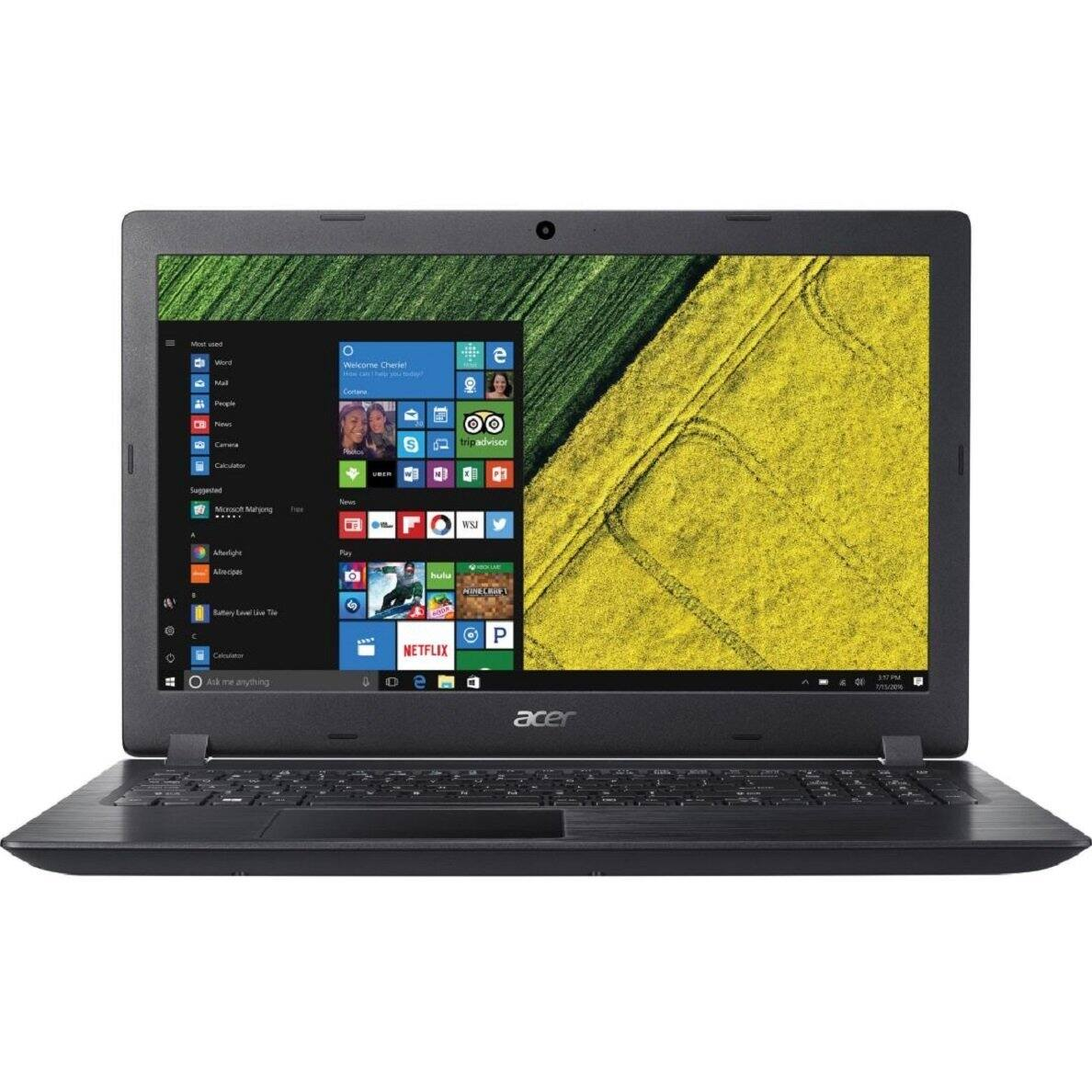 """Acer Aspire 3 15.6"""" Laptop: A9-9420, 6GB DDR4, 1TB HDD, Radeon R5, Win 10 $200 + Free Store Pickup @ Staples"""
