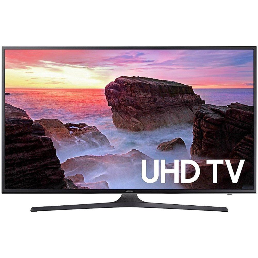 "43"" Samsung UN43MU6290 4K UHD HDR Smart LED HDTV (Refurbished) $237.57 w/ Store Pickup @ Walmart"