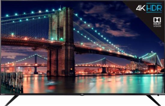 "65"" TCL 65R615 4K UHD  HDR Roku Smart LED HDTV (2018 Model) $969.99 + Free Shipping / Pickup @ Best Buy"