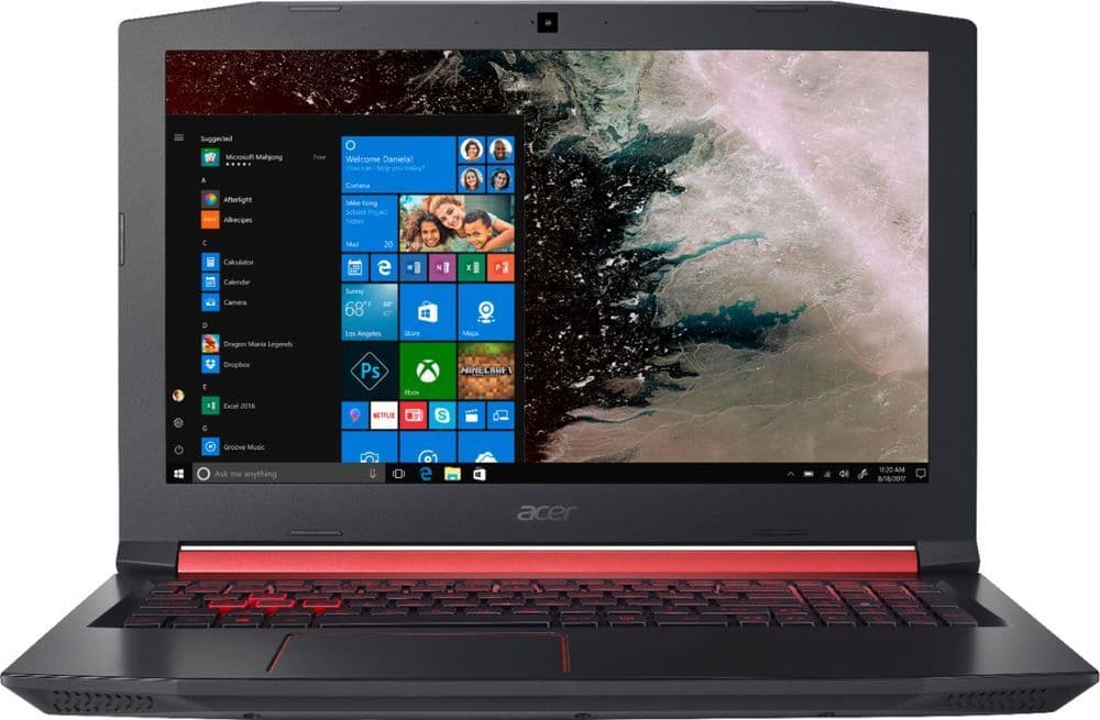 "Acer Nitro 5 Laptop: Intel Core i5-8300H, 15.6"" 1080p IPS, 8GB DDR4, 256GB SSD, GTX 1050 Ti 4GB, Type-C, Win 10 $649.99 & More + Free Shipping @ eBay"